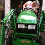 JD tractor driver wife