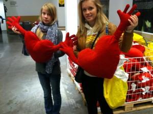 V-Day hearts IKEA