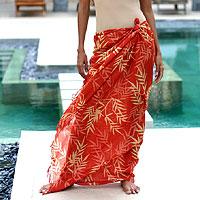 (Photo of a sarong?)