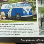 etc guy Skymall Magazine VW bus