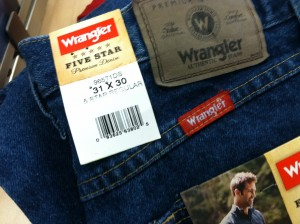 Jeans wider than longer