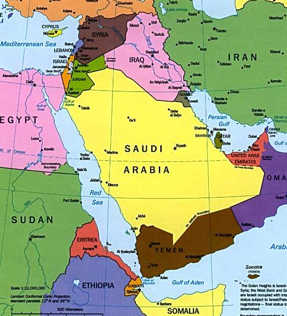 More Than You Ever Wanted to Know about War in the Middle East