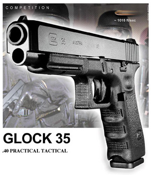 Glock Model 35 The Pro S Choice Pistol Review Post Scripts
