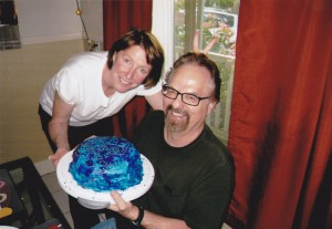 T&P with cake