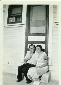Mom & Dad newlyweds