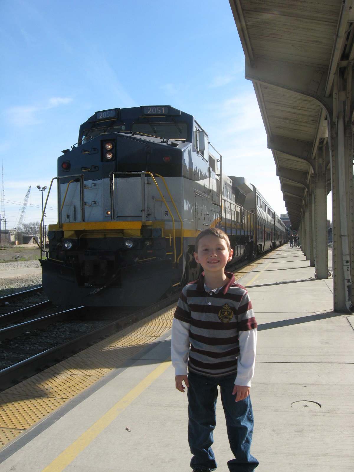 Rail – Jordan's first train ride